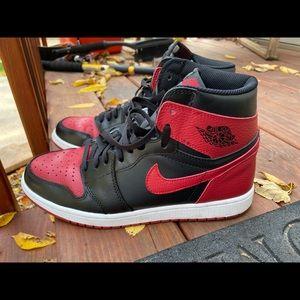 Jordan 1 bred ( fugazzys)